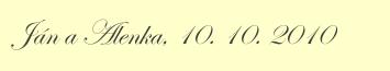 Gravírovanie písmom Edwardian Script - ukážka
